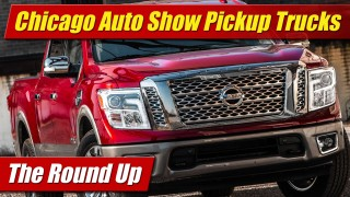 The Round Up: Chicago Auto Show Pickup Trucks
