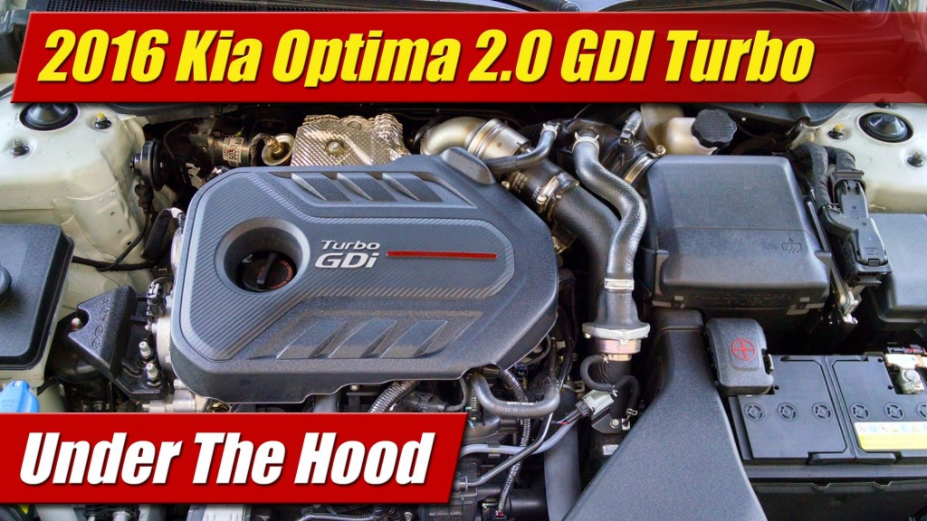 hood  kia optima  gdi turbo testdriventv