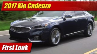First Look: 2017 Kia Cadenza