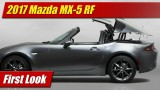 First Look: 2017 Mazda MX-5 RF
