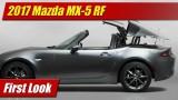 First Look: 2017 Mazda MX-5 RF