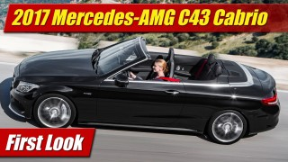 First Look: 2017 Mercedes-AMG C43 Cabriolet
