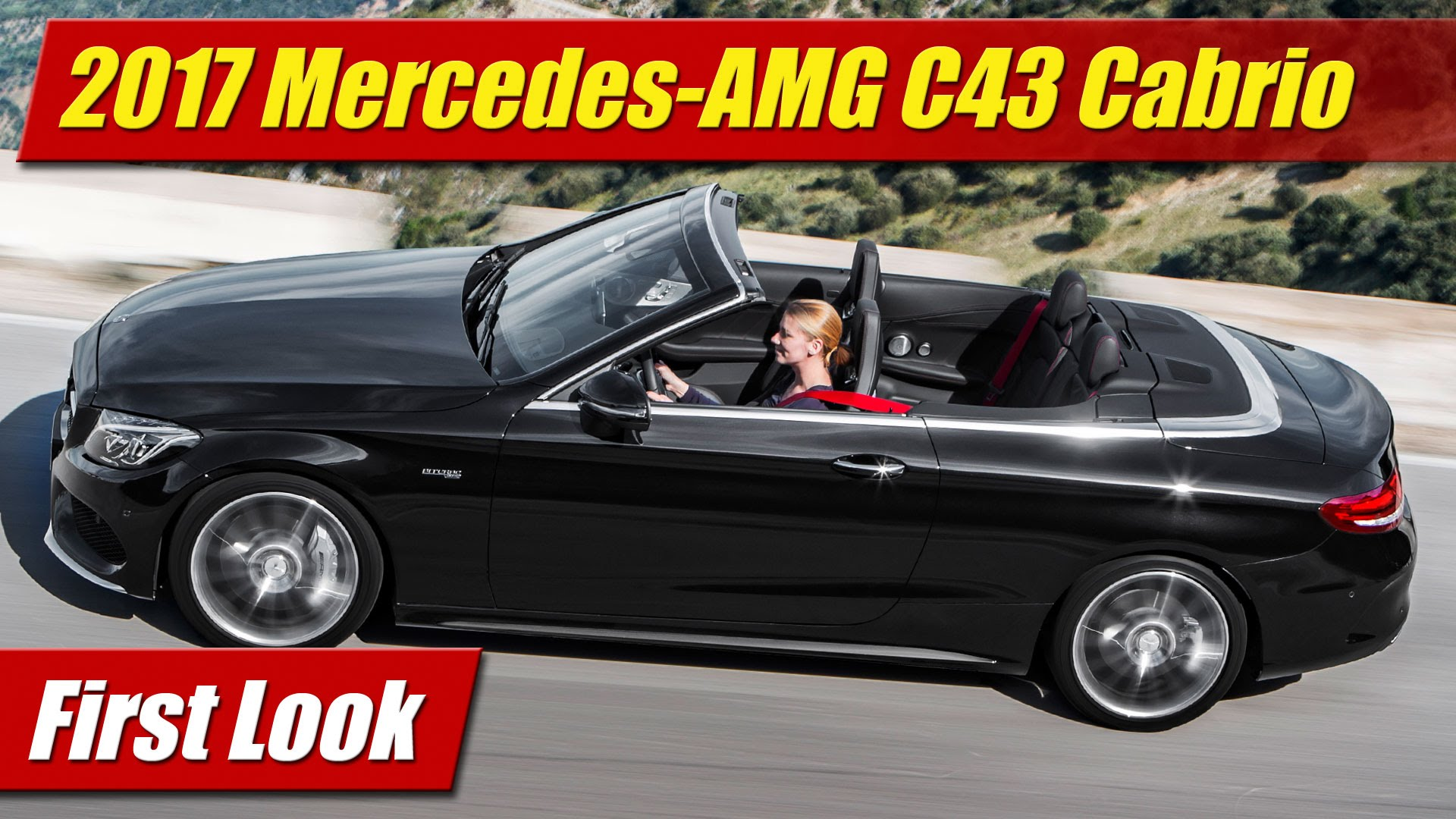 First Look 2017 Mercedes Amg C43 Cabriolet