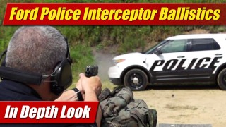 In-Depth Look: Ford Police Interceptor ballistics protection