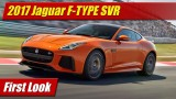 First Look: 2017 Jaguar F-TYPE SVR