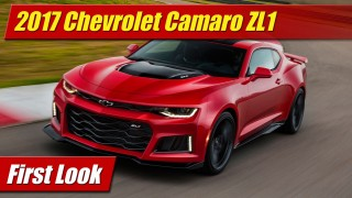First Look: 2017 Chevrolet Camaro ZL1