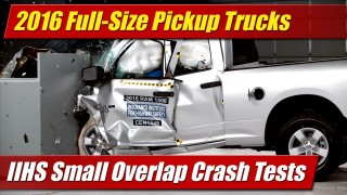 IIHS Crash Tests: 2016 Full Size Pickup Trucks