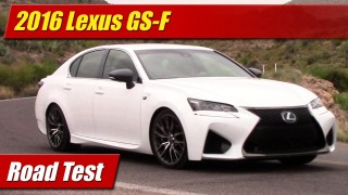 Road Test: 2016 Lexus GS-F