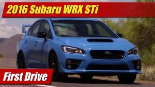 First Drive: 2016 Subaru WRX STi
