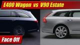 Face Off: 2017 Mercedes-Benz E400 Wagon vs Volvo V90 Estate