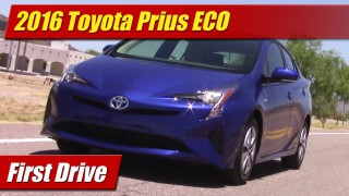First Drive: 2016 Toyota Prius Two ECO