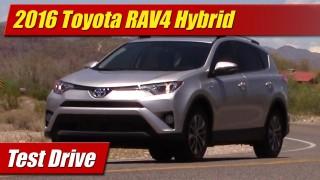 Test Drive: 2016 Toyota RAV4 Hybrid