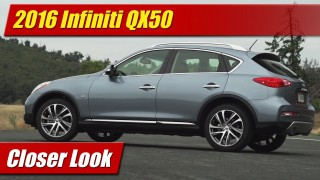 Closer Look: 2016 Infiniti QX50