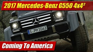 Coming to America: 2017 Mercedes-Benz G550 4×4²