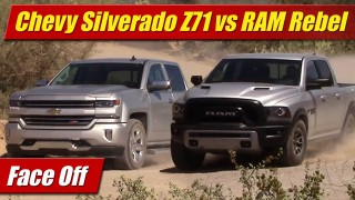 Face Off: 2016 Chevrolet Silverado Z71 vs RAM Rebel