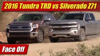 Face Off: 2016 Tundra TRD vs Silverado Z71