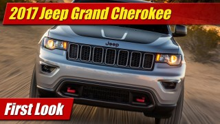 First Look: 2017 Jeep Grand Cherokee