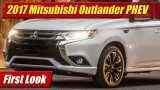 First Look: 2017 Mitsubishi Outlander PHEV