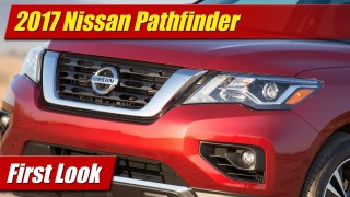 First Look: 2017 Nissan Pathfinder