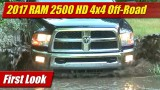 First Look: 2017 RAM 2500 HD 4×4 Off-Road Package