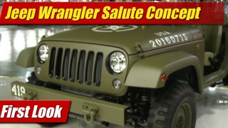 First Look: Jeep Wrangler Salute Concept