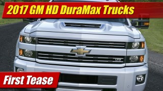First Tease: 2017 Chevrolet Silverado HD DuraMax Trucks