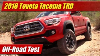 Off-Road Test: 2016 Toyota Tacoma TRD