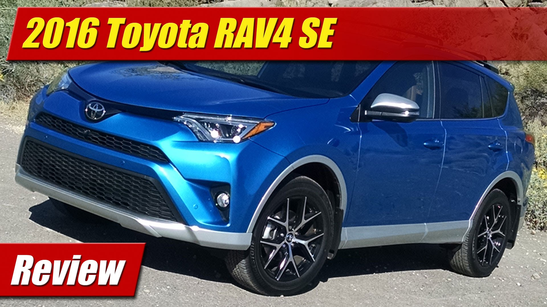 Review: 2016 Toyota RAV4 SE