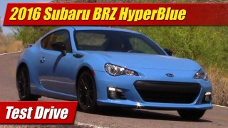 Test Drive: 2016 Subaru BRZ Series.HyperBlue