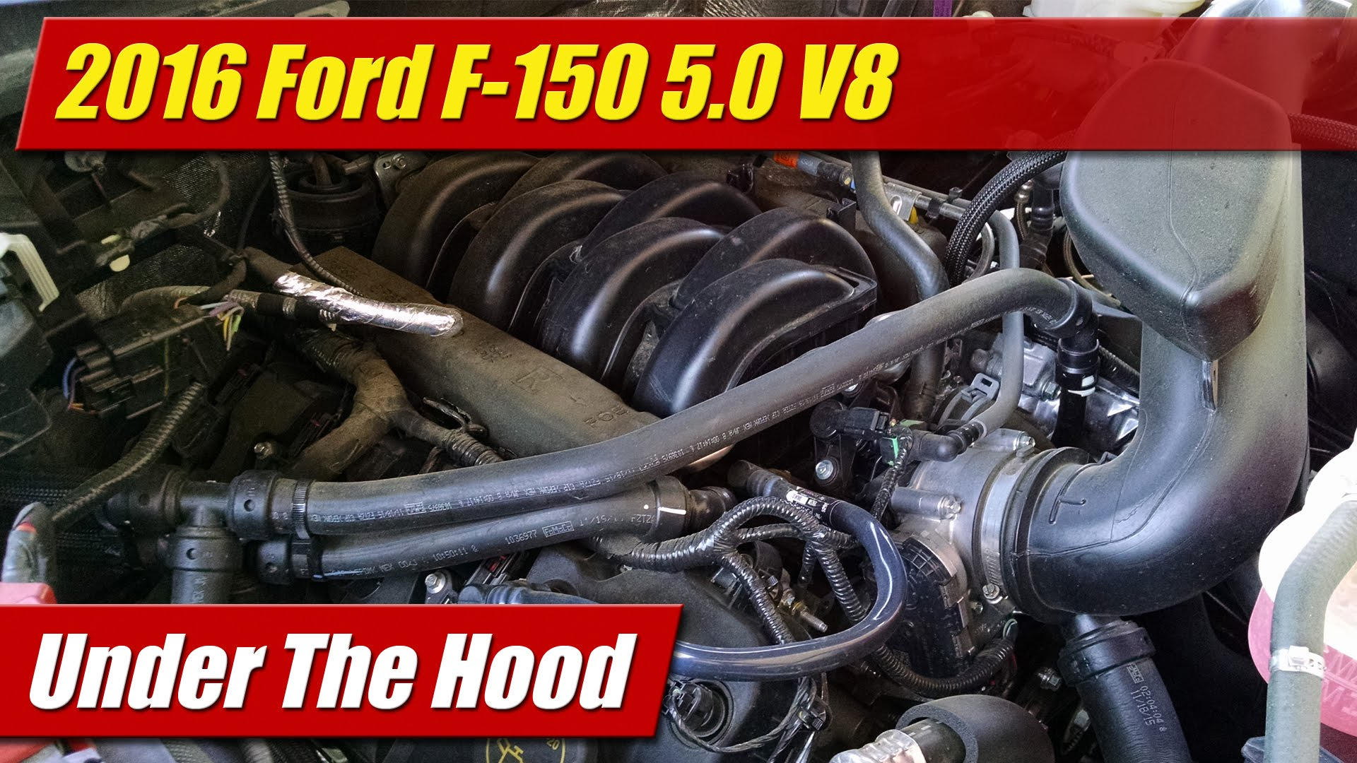 Under The Hood 2016 Ford F 150 5 0 V8