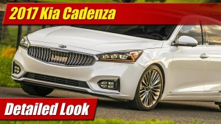 Detailed Look: 2017 Kia Cadenza