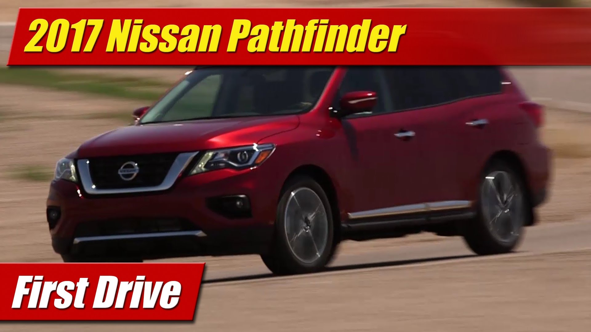First Drive: 2017 Nissan Pathfinder