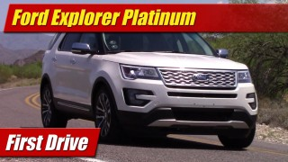 First Drive: Ford Explorer Platinum