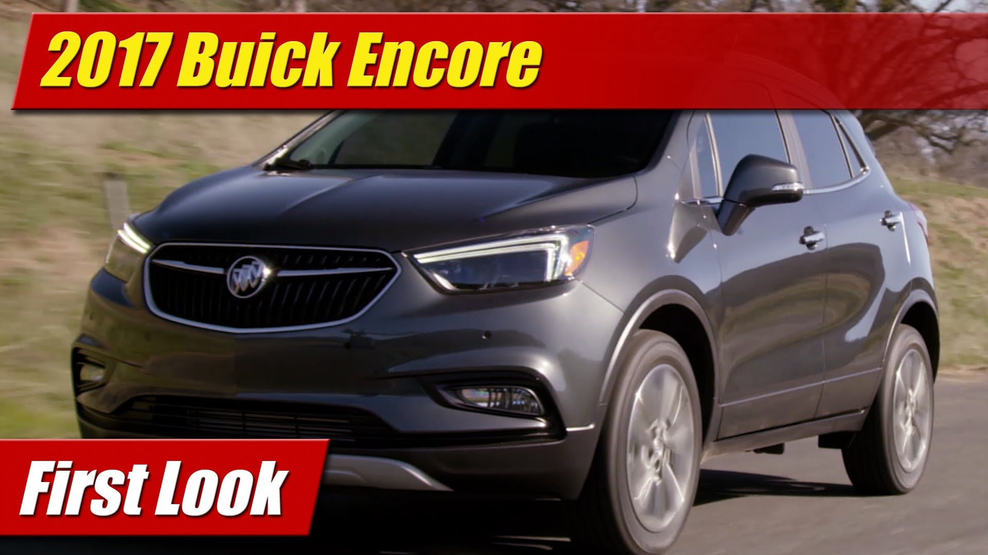 first look 2017 buick encore testdriven tv. Black Bedroom Furniture Sets. Home Design Ideas