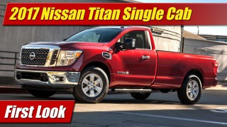 First Look: 2017 Nissan Titan Single Cab