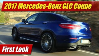 First Look: Mercedes-Benz GLC Coupe
