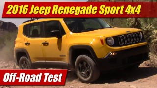 Off-Road Test: 2016 Jeep Renegade Sport 4×4