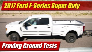 Proving Ground Tests: 2017 Ford F-Series Super Duty