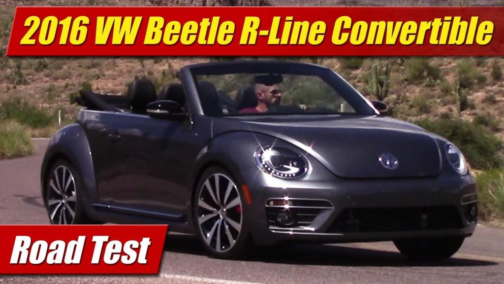 Road Test: 2016 Volkswagen Beetle R-Line Convertible - TestDriven.TV