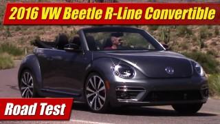 Road Test: 2016 Volkswagen Beetle R-Line Convertible