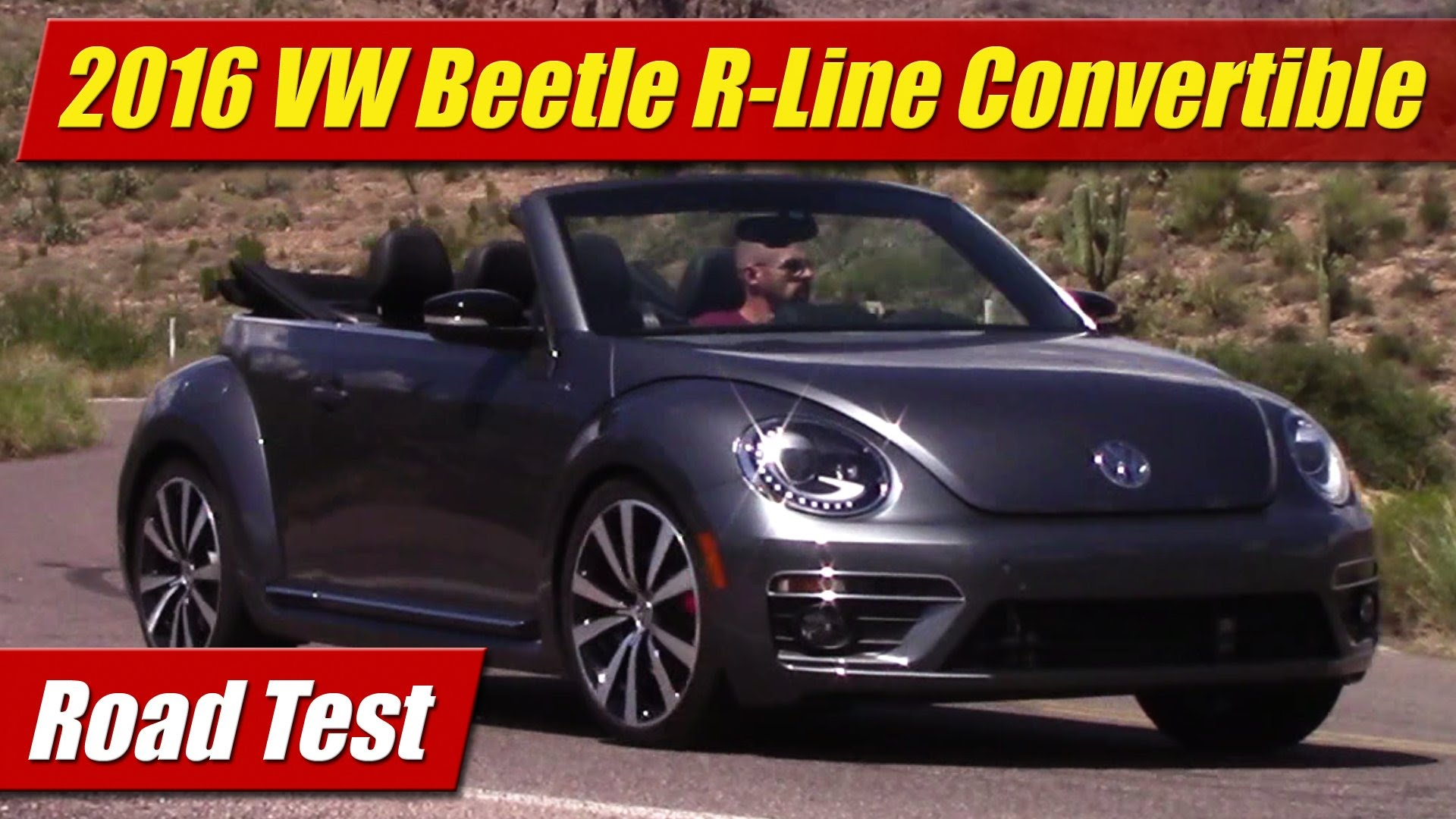 Road Test 2016 Volkswagen Beetle R Line Convertible