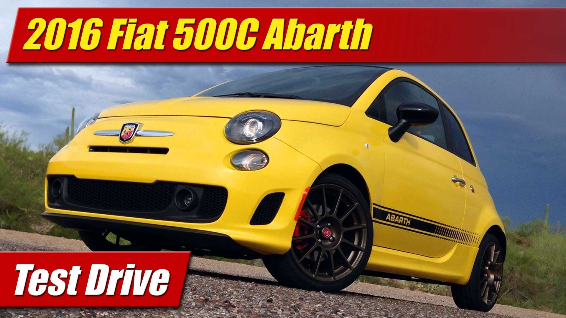 test drive 2016 fiat 500c abarth testdriven tv. Black Bedroom Furniture Sets. Home Design Ideas