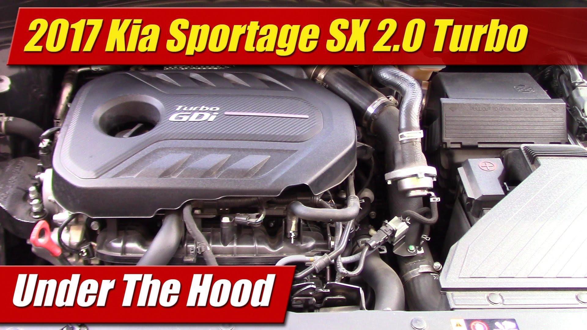Kia All Wheel Drive >> Under The Hood: 2017 Kia Sportage SX 2.0 Turbo - TestDriven.TV