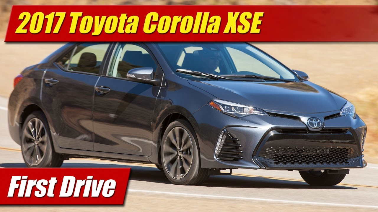 2017 corolla xse best new cars for 2018. Black Bedroom Furniture Sets. Home Design Ideas