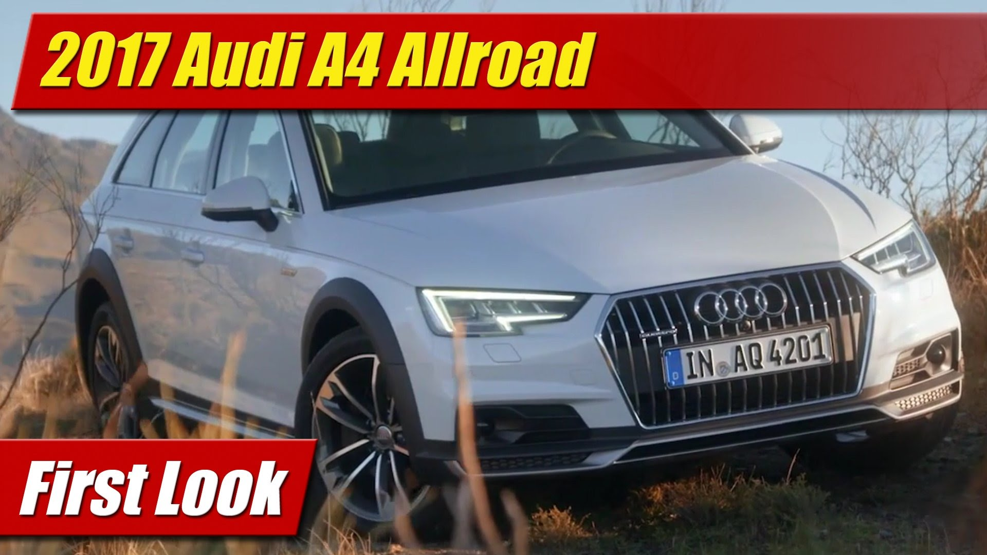 First Look 2017 Audi A4 Allroad