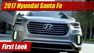 First Look: 2017 Hyundai Santa Fe