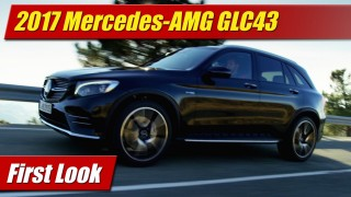 First Look: 2017 Mercedes-AMG GLC43