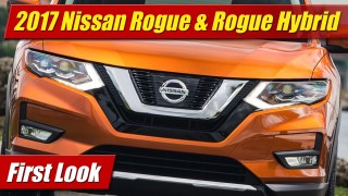 First Look: 2017 Nissan Rogue