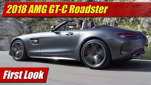 First Look: 2018 AMG GT C Roadster