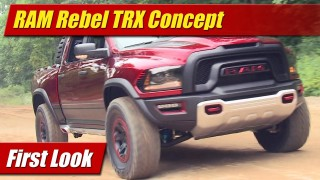 First Look: Ram Rebel TRX Concept